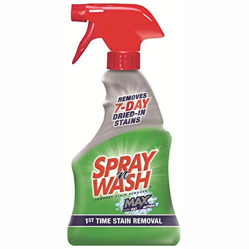 Spray 'n Wash Max Laundry Stain Remover, 16 oz (Pack of 8)