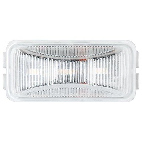 Lumitronics RV Mini Thin Line 37 Series Sealed LED Marker/Clearance Light (Clear)