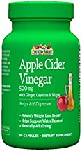 Country Farms Apple Cider Vinegar 500mg, 90 Capsules Each (Pack of 3)