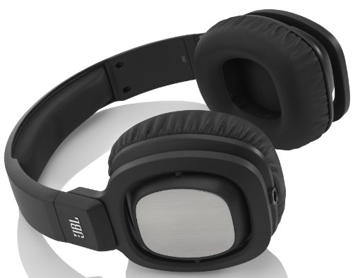 JBL J88i Premium Over-Ear Headphones with JBL Drivers, Rotatable Ear-Cups and Microphone - Black
