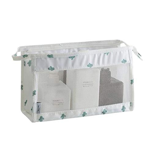 LJSLYJ Portable Zipper Rangement Bag Trousse De Toilette Voyage Accessoires Maille Séchage Rapide Trousse De Toilette,Vert