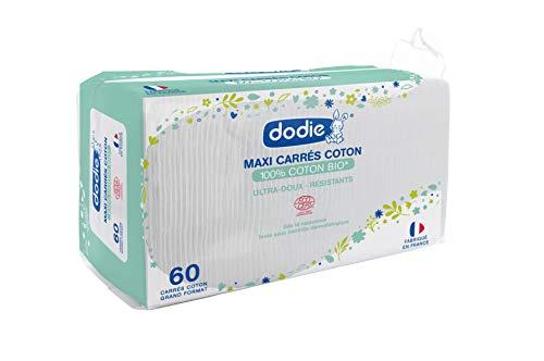 Dodie - Carré Coton certifiés BIO, Dès la naissance, x60