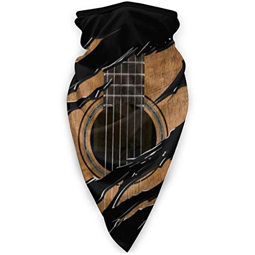Not Applicable Half Face Headwear,Guitar Face Scarf Casual for Sport Headwear Face 24x52cm