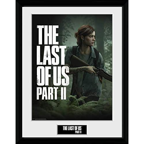 1art1 The Last of Us - Part II, Key Art Poster da Collezione Incorniciato (40 x 30cm)