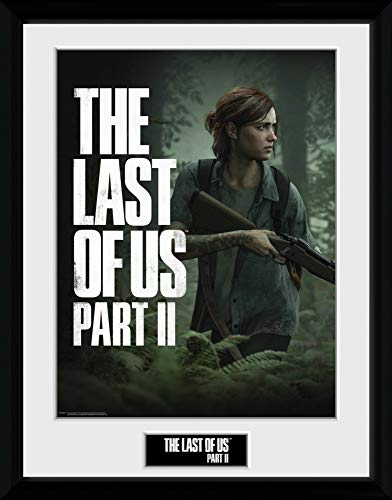 1art1 The Last of Us - Part II, Key Art Gerahmtes Bild Mit Edlem Passepartout | Wand-Bilder | Kunstdruck Poster Im Bilderrahmen 40 x 30 cm