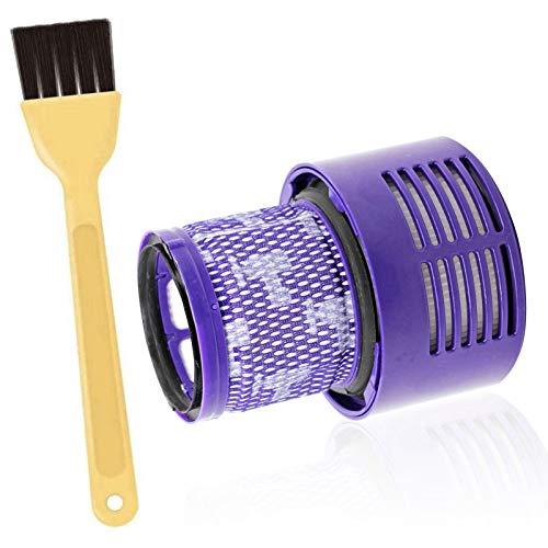 Ersetzt Filter für Dyson V10 Waschbar Filter Einheit für Dyson V10 Sv12 Cyclone Animal Absolute Total Reinigung Staubsauger Ersatzteile,Dyson V10 Ersatzteil Filter Zubehör # DY-969082-01