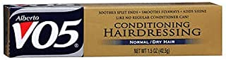 Vo5 Conditioning Hairdressing Normal or Dry Hair, 1.5 Oz (Pack of 3)