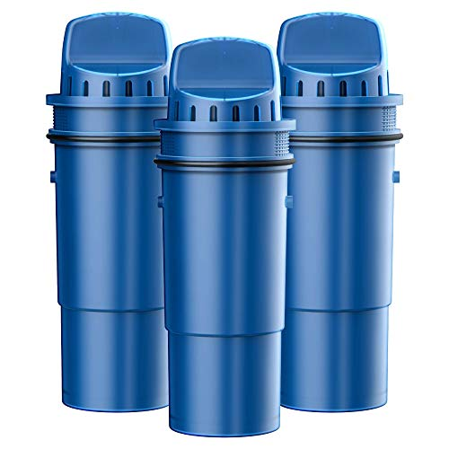 Waterspecialist NSF Certified CRF-950Z Pitcher Water Filter, Replacement for Pur Pitchers and Dispensers PPT700W, CR-1100C, DS-1800Z and PPF951K, PPF900Z Water Filter (Pack of 3)