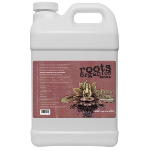 Aurora Innovations Roots Organics Buddha Bloom, Organic Liquid Fertilizer, 0.5-2-1 NPK, 2.5 Gallon
