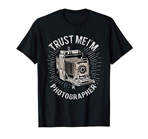 Fotógrafo clásico, Cámara de fotografía vintage Camiseta
