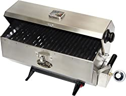 stainless steel construction grill