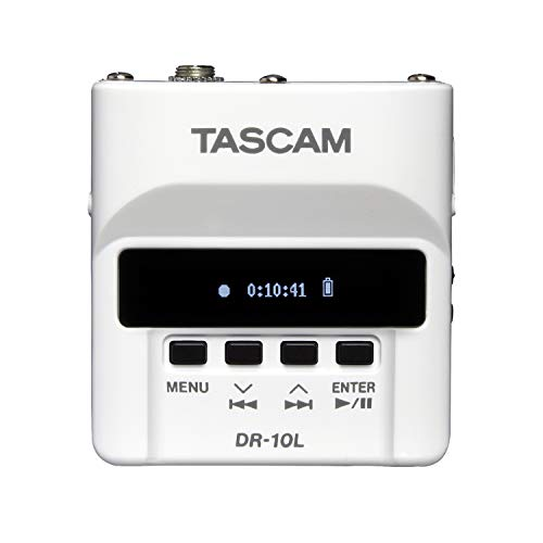 Tascam DR-10LW Portable Digital Audio Recorder With Lavalier Microphone