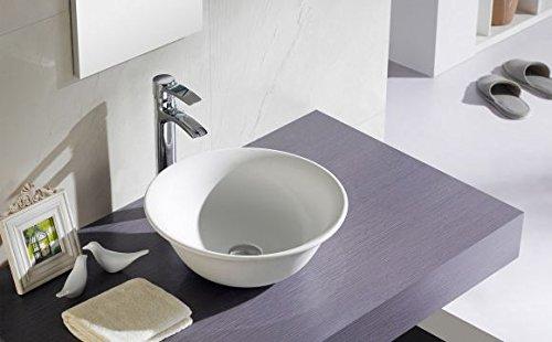 Lavabo bathco sobre encimera New Nordic CRU 400 x 150 mm