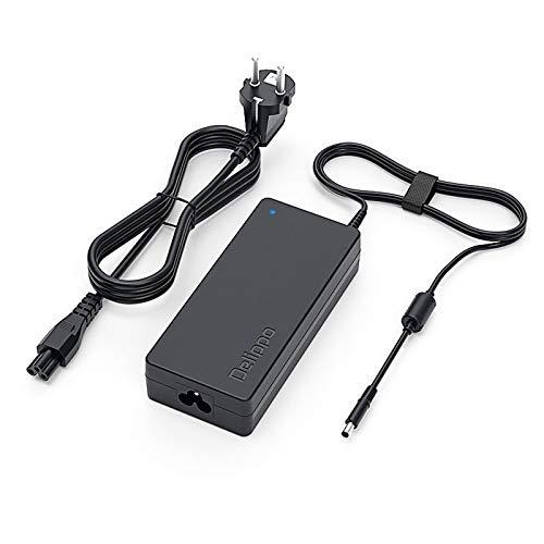 Delippo 120W 18.5V 6.5A Notebook Caricabatterie Alimentatore AC Adapter PC Portatile Adattatore per HP DV7 7298ca 8710p DV6 MS200 NC6400 EliteBook 8460p 8470p 8530p 8530w 8540p