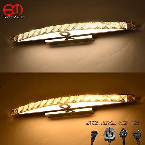 Luxueuze moderne met stekker kristal wandlamp badkamerspiegel lamp kristal LED - spiegellamp wandlamp