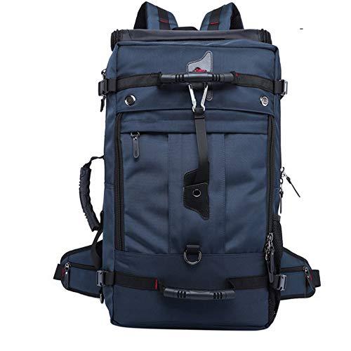 Gimnasio Deportivo Resistente Agua Travel Weekender Ultimate Gym Bag con Compartimento para Zapatos, Ligero Duradero Sports Duffel Gym BolsoViaje Nocturno,Azul
