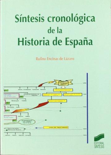 Síntesis cronológica de la historia de España: 27 (Atlas históricos)
