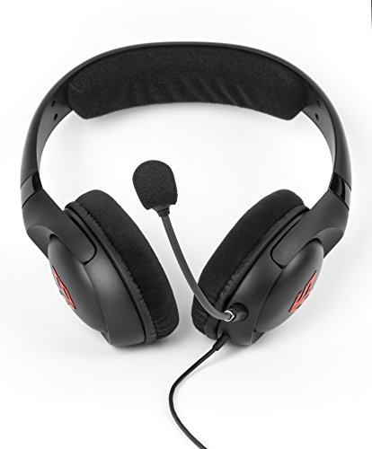 Creative HS-810 SB Blaze Gaming Headset, schwarz & Sharkoon PMP35 - TRRS Audio Combo Adapter für Gaming Headsets (PS4 / Tablets/Smartphones/Notebooks) schwarz