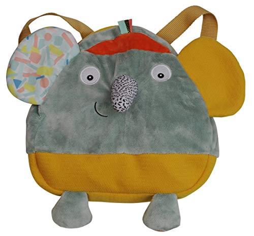 Unbekannt Rucksack Ziggy der Elefant 35 cm