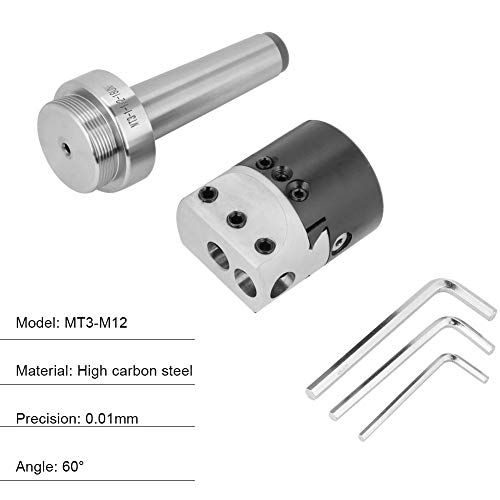 MT3-M12 Houder kegelspantangenhouder, 2 inch draaikop, accessoires voor het boren van CNC-gereedschapsmachines, leerboormachines, horizontale boormachines