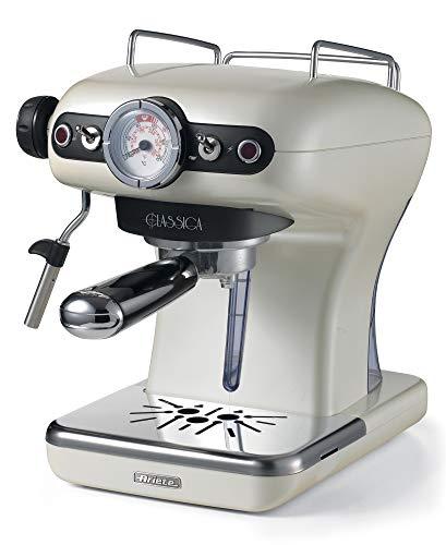 Ariete 1389/17 Classica Siebträger-Espressomaschine, 850, Kunststoff, perlmutt