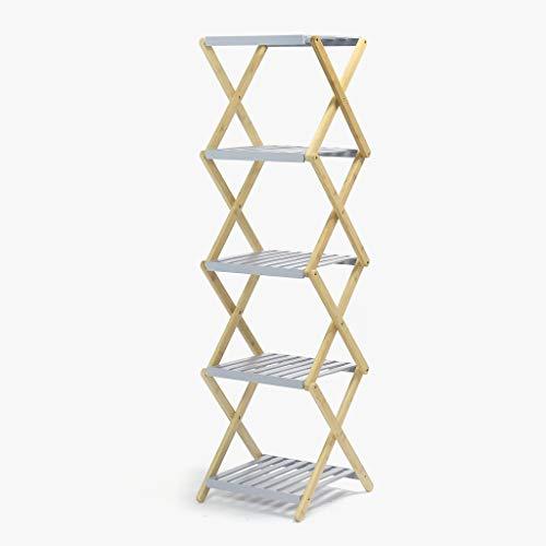 Confort24 rek van bamboe compact intrekbaar voor badkamer of keuken hoge kast organizer 15 planken 37 x 35 x 128 cm