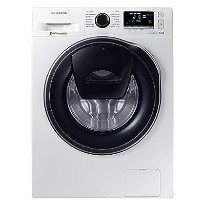 SamsungWW90K6414QW Freestanding Smart Washing Machine with Addwash, 9 kg Load, 1400 rpm Spin, White