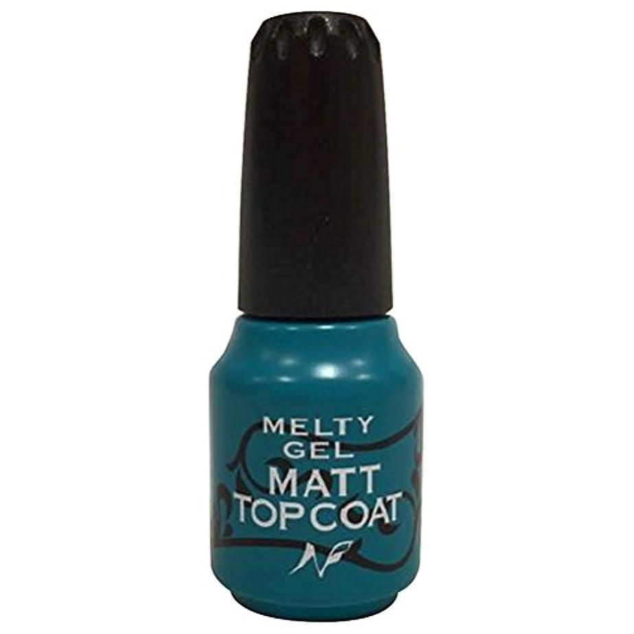 ペパーミントあいまい渦Melty Gel マットトップコート 14g