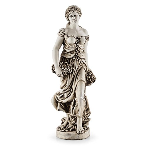 Blumfeldt Ceres - Skulptur, Statue, Gartenfigur, griechische Göttin, 1,2m Höhe, witterungs- und...