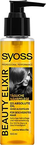 syoss Beauty Elixir Absolute Oil, 3Pack (3x 100ml)