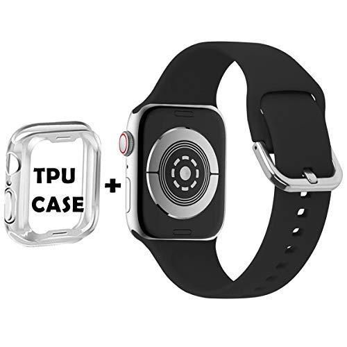 Il cinturino Anzhee per Apple Watch è compatibile con Apple Watch serie 5, 4, 3, 2, 1, il cinturino per Apple Watch ha 38 mm/40 mm S/M e 38 mm/40 mm M/L, 42 mm/44 mm S/M e 42 mm/44 mm M/L, 38 mm/40 mm corrisponde a Apple iWatch serie 3, 2 1, 42 mm/44...