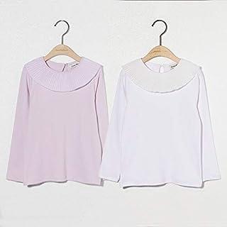 [キトハウス] (5-3-c)パウダリーTシャツ 子供服長袖tシャツ 女の子