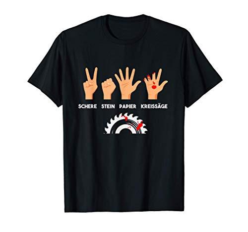 Tischler Zimmermann Holz Basteln Heimwerker Schreiner T-Shirt