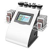 40k Ultrasuoni liposuzione Cavitazione 8 Pads Laser vuoto RF Cura della pelle Salone Spa che dimagrisce macchina Attrezzature di bellezza