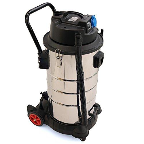 Der BAUTEC Industriesauger 60 Liter | 1.400 W | Nasssauger Trockensauger