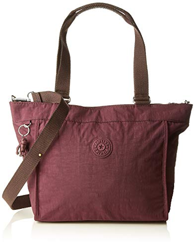 Kipling New Shopper S, Borsa Donna, Viola (Dark Plum), 42x27x13 centimeters (B x H x T)