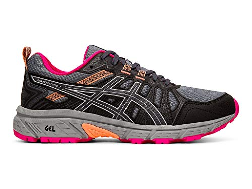ASICS Women's Gel-Venture 7 Running Shoes, 8.5M, Carrier Grey/Silver
