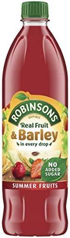 Robinsons Real Fruit & Barley Summer Fruits, 1 Litre