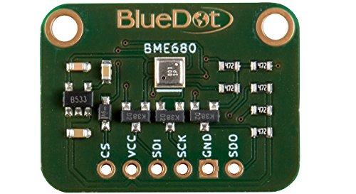 BlueDot BME680 Sensor für Arduino: Temperatur, Feuchte, Luftdruck und Gas