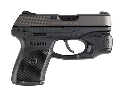 LaseMax CenterFire Laser /Light Combo (Green) CF-LC9-C-G With GripSense For Use With Ruger LC9/LC380/LC9s/EC9s , Black