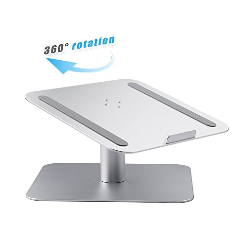 BUBM Portable Laptop Stand for Desk, MacBook, Notebook, Ipad, Silver (DNZJ-01)