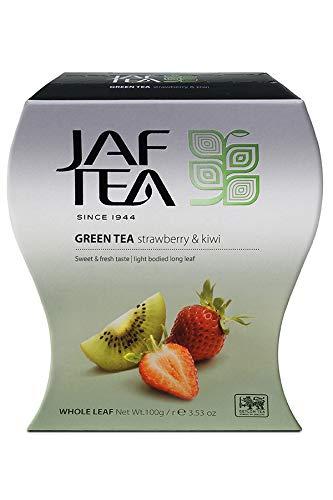 JAF TEA Grüner Tee - Erdbeere & Kiwi - Karton