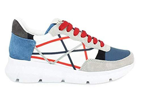 L4K3 MR Big Legend 76 Sneaker Uomo Grey/Blue, 45