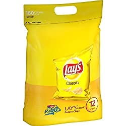 Lay's Classic Potato Chips, 12 Singles