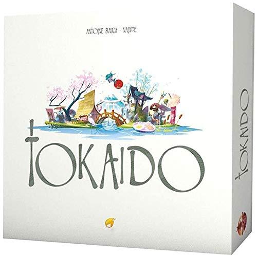 NINGXUE Tokaido Brettspiel - Familientreffen Casual Puzzle Game Brettspiel - Strategiespiel, englische Version