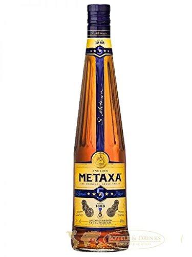 Metaxa 5* Sterne Weinbrand Brandy 1 Liter