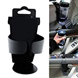 Tongxu Premium Plastic Auto Cup Holder, Car Vehicle Cup Can Drink Bottle Holders Container Hook Door Mount Stand Hanging Hook or Carseat Headrest Seat Back Organizer