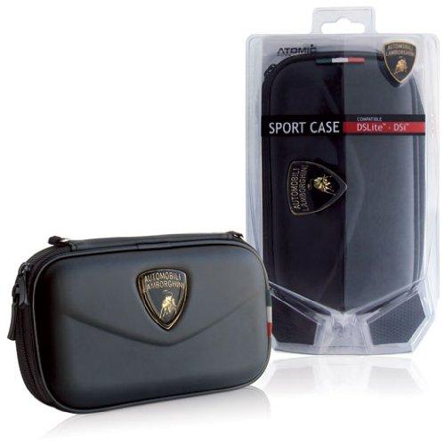 Atomic Accessories DS Lite/DSi Sport Case Lamborghini - Black (Nintendo DS) [import anglais]