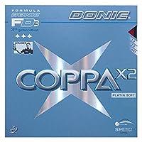 DONIC(ドニック) 卓球 コッパ X2 裏ソフトラバー レッド 1.8 AL053