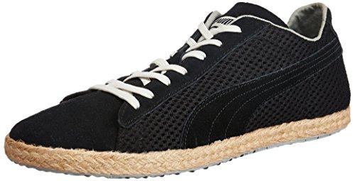 Puma AG Puma Glyde Espadrille Halbschuhe 354672, Unisex-Erwachsene Espadrilles, Schwarz (black-limestone gray-vaporous grey 01), EU 37.5 (UK 4.5) (US 5.5)